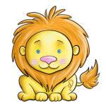 Löwe niedlich